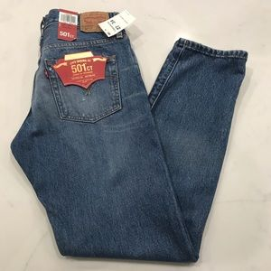 Levi's 501 CT distressed Boyfriend Jeans
